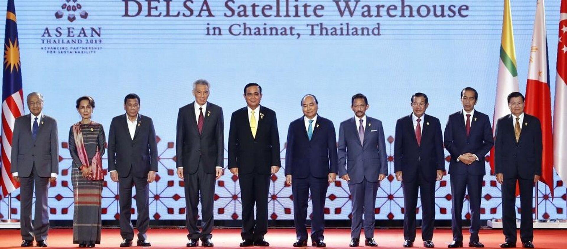 Thủ tướng Nguyễn Xuân Phúc dự khai mạc Hội nghị cấp cao ASEAN lần thứ 34 - Sputnik Việt Nam, 1920, 24.06.2019
