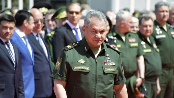 Bộ trưởng Quốc phòng Sergei Shoigu tại Diễn đàn Army-2019. - Sputnik Việt Nam