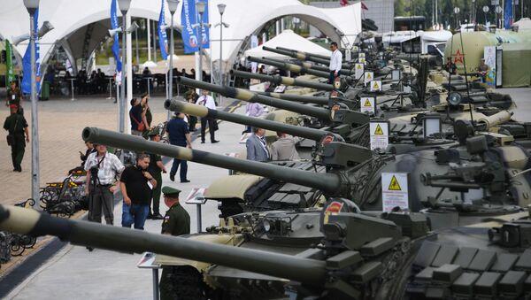 Thiết bị quân sự tại Diễn đàn Kỹ thuật-Quân sự Quốc tế Army-2019 - Sputnik Việt Nam