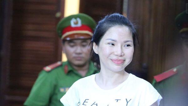 Bị cáo Vũ Thụy Hồng Ngọc - Sputnik Việt Nam