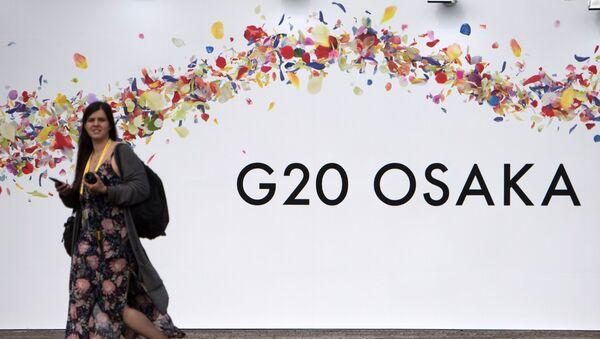 Hội nghị Thượng đỉnh G20 ở Osaka, Nhật Bản - Sputnik Việt Nam