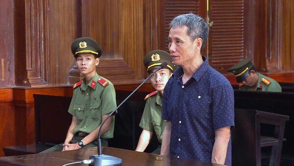 Bị cáo Trương Hữu Lộc tại phiên tòa.  - Sputnik Việt Nam