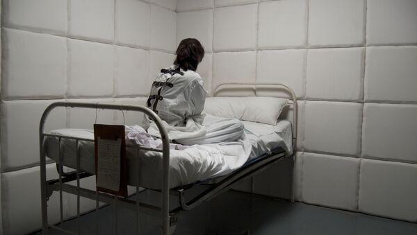 Một người phụ nữ trong bệnh viện tâm thần - Sputnik Việt Nam