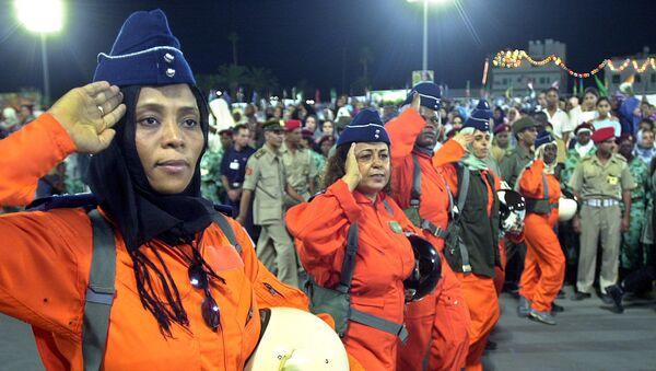 Các phụ nữ trong Không quân Libya - Sputnik Việt Nam