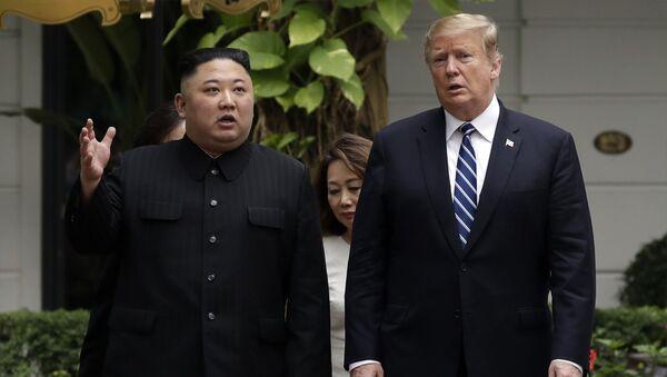 cuộc gặp của hai ông Trump và Kim Jong-un - Sputnik Việt Nam