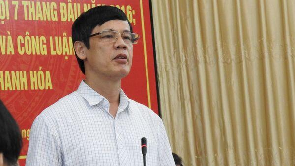 Ông Nguyễn Đình Xứng, Chủ tịch UBND tỉnh Thanh Hóa - Sputnik Việt Nam