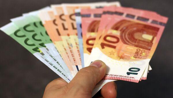 tiền euro - Sputnik Việt Nam