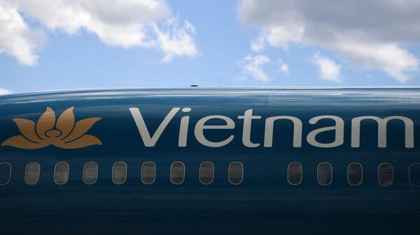 """Máy bay của hãng Vietnam Airlines tại sân bay quốc tế """"Sheremetyevo"""" - Sputnik Việt Nam"""