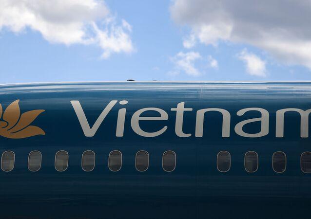 """Máy bay của hãng Vietnam Airlines tại sân bay quốc tế """"Sheremetyevo"""""""