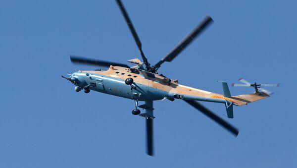 Máy bay trực thăng vận tải-tấn công Mi-35M - Sputnik Việt Nam