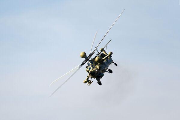 """Máy bay trực thăng tấn công Mi-28UB """"Thợ săn đêm"""" (phiên bản huấn luyện -chiến đấu) - Sputnik Việt Nam"""