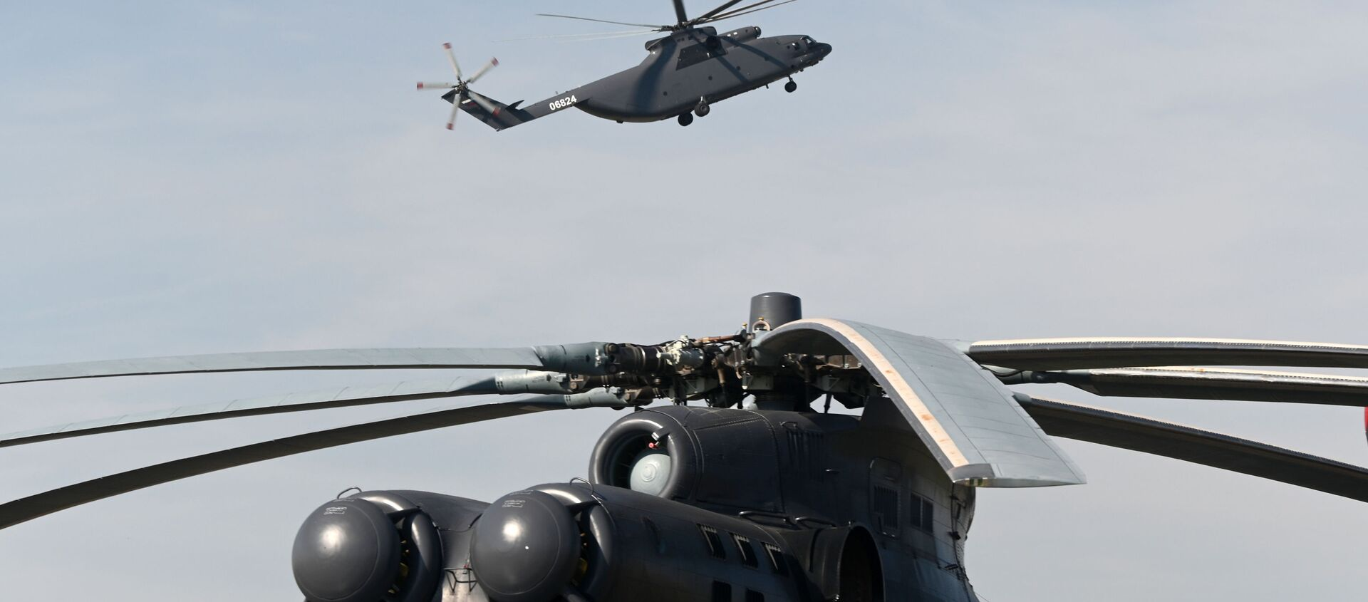 Máy bay trực thăng vận tải quân sự hạng nặng Mi-26T2 - Sputnik Việt Nam, 1920, 23.03.2021