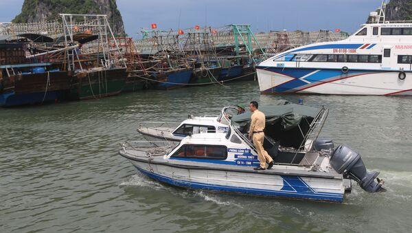 Lực lượng chức năng kêu gọi các tàu cá về nơi trú ẩn an toàn - Sputnik Việt Nam