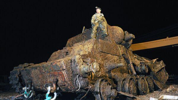 Xe tăng KV-1 Klim Voroshilov - Sputnik Việt Nam