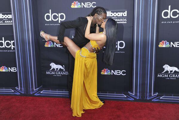 Nữ ca sĩ biểu diễn hip-hop Cardi B tại Billboard Music Awards ở Las Vegas, Hoa Kỳ - Sputnik Việt Nam
