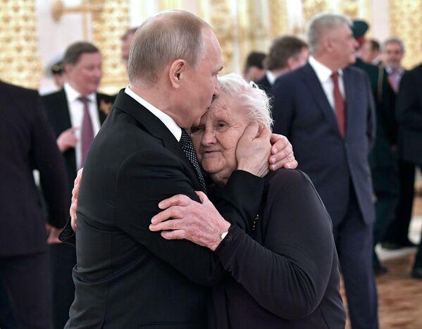 Tiệc chiêu đãi trọng thể nhân danh Tổng thống Vladimir Putin nhân dịp kỷ niệm 74 năm Chiến thắng trong cuộc Chiến tranh Vệ quốc Vĩ đại - Sputnik Việt Nam