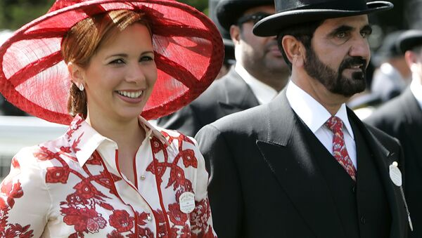 Nhà lãnh đạo Dubai và Thủ tướng UAE Rashid al Maktoum và Công chúa Haya al Hussein - Sputnik Việt Nam