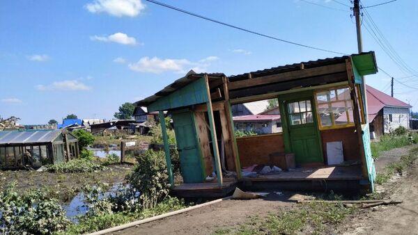 Tình hình khu vực ngập lụt ở vùng Irkutsk - Sputnik Việt Nam