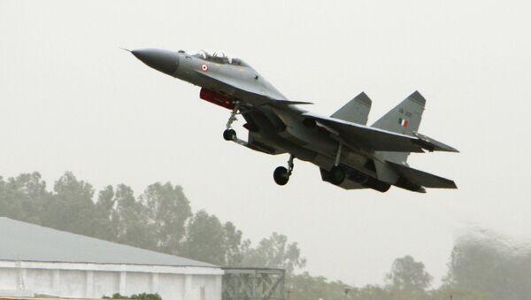 Сhiến đấu cơ SU-30MKI của Không quân Ấn Độ - Sputnik Việt Nam