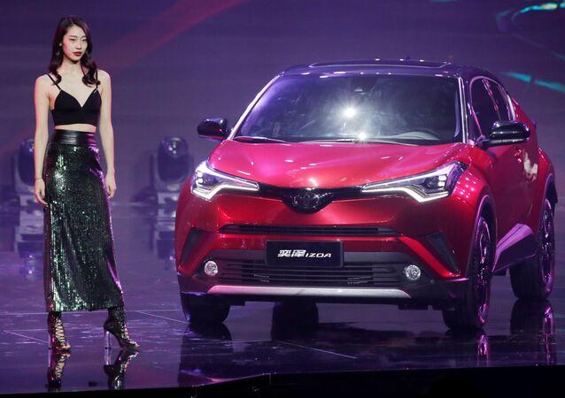 Xe Toyota IZOA tại Triển lãm ô tô Bắc Kinh