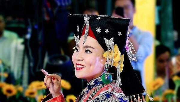 Nữ hoàng tâm linh Phạm Nữ Hiền Ngân - Sputnik Việt Nam