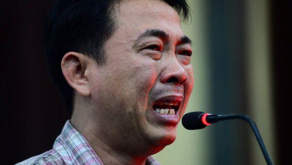 Bị cáo Nguyễn Minh Hùng khóc nức nở - Sputnik Việt Nam
