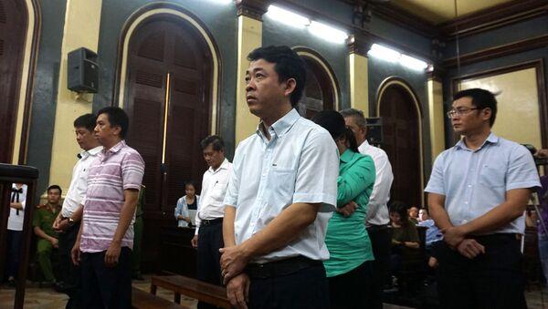 Vụ VN Pharma. Các bị cáo tại phiên tòa sơ thẩm hồi tháng 8/2017 - Sputnik Việt Nam
