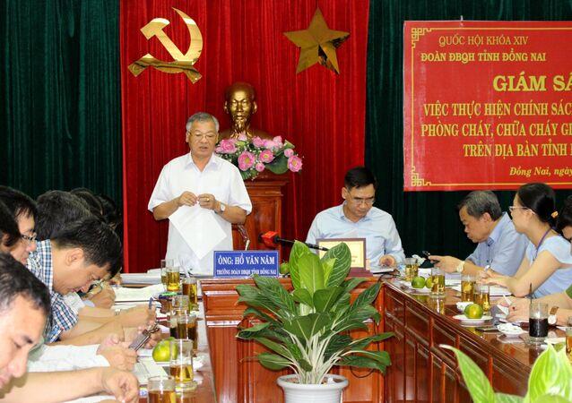 Trưởng đoàn Đại biểu Quốc hội tỉnh Đồng Nai Hồ Văn Năm