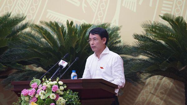 Giám đốc Sở TN&MT Nguyễn Trọng Đông - Sputnik Việt Nam