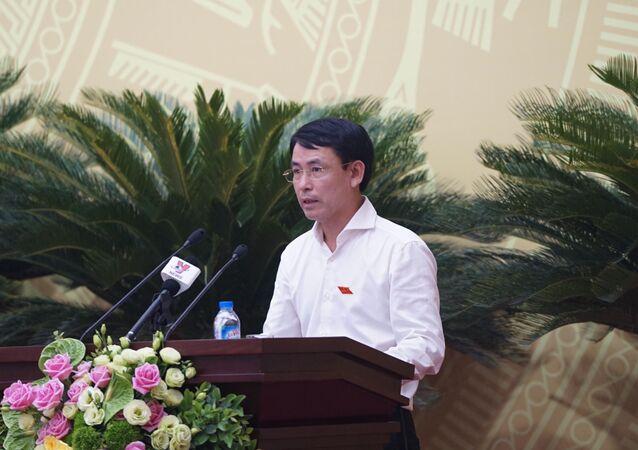 Giám đốc Sở TN&MT Nguyễn Trọng Đông