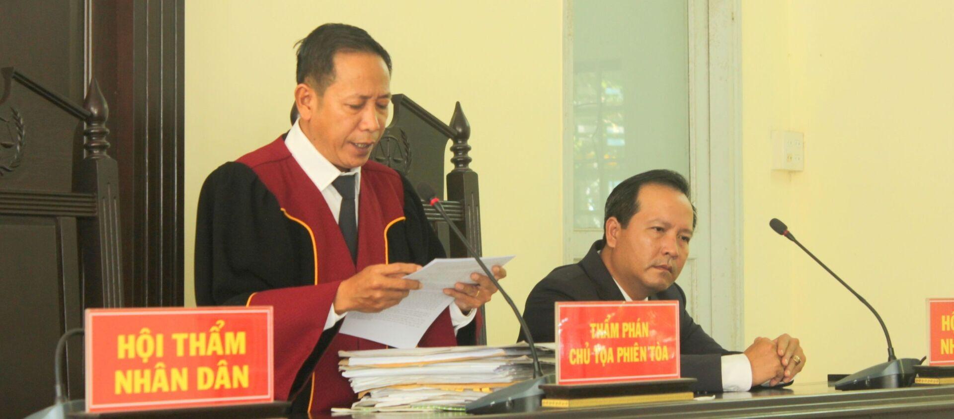 Phiên tòa xét xử hai cựu công an Cần Thơ - Sputnik Việt Nam, 1920, 10.07.2019