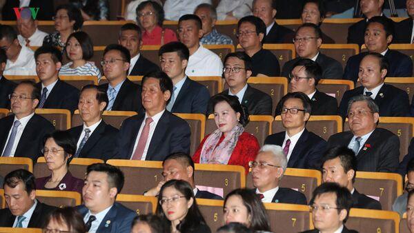 Hai Chủ tịch Quốc hội dự chương trình nghệ thuật Nhịp cầu hữu nghị. - Sputnik Việt Nam