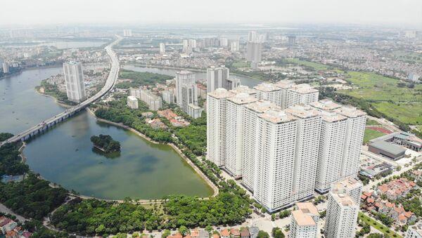 Chung cư HH Linh Đàm là một trong những chung cư có số căn hộ vượt quá so với quy hoạch của Tập đoàn Mường Thanh - Sputnik Việt Nam