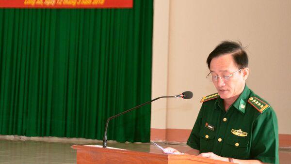 Đại tá Phạm Phú Phước, Chỉ huy trưởng BĐBP tỉnh Long An - Sputnik Việt Nam