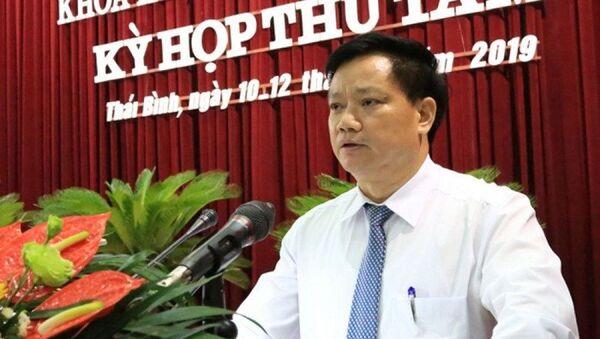 Ông Nguyễn Khắc Thận - tân Phó Chủ tịch UBND tỉnh Thái Bình - Sputnik Việt Nam