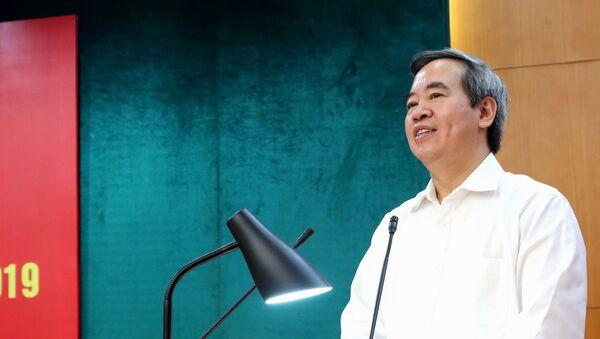Ông Nguyễn Văn Bình, Ủy viên Bộ Chính trị, Bí thư Trung ương Đảng, Trưởng ban Kinh tế Trung ương - Sputnik Việt Nam