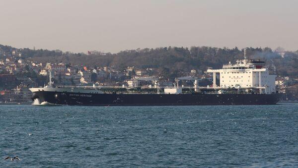 Tàu chở dầu British Heritage - Sputnik Việt Nam