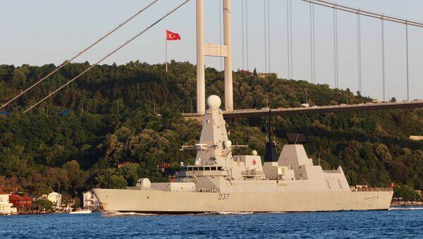 tàu HMS Duncan - Sputnik Việt Nam