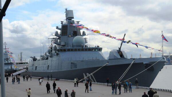 Khu trục hạm Nga mới nhất của đề án 22350 Đô đốc Kasatonov - Sputnik Việt Nam