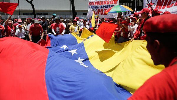 cờ Venezuela/Nicolas Maduro - Sputnik Việt Nam