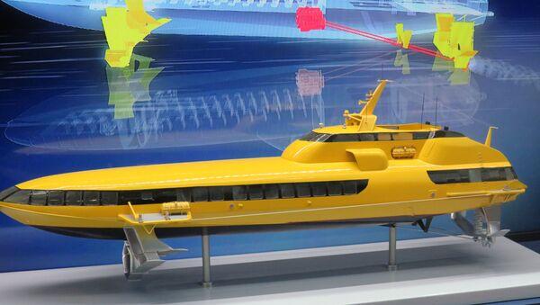 Tàu cánh ngầm Kometa-120M (mô hình) - Sputnik Việt Nam