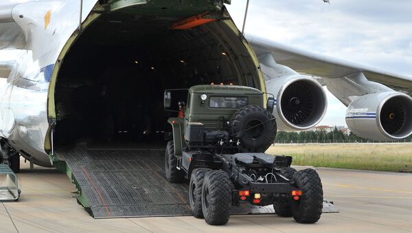 Nga bắt đầu chuyển giao cho Ankara các bộ phận của hệ thống phòng không S-400  - Sputnik Việt Nam