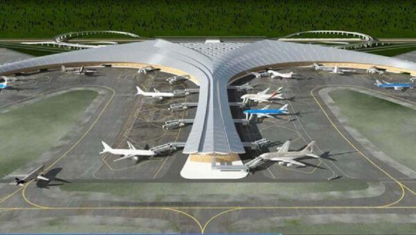 Mô hình sân bay Long Thành - Sputnik Việt Nam