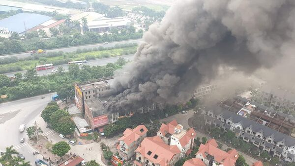 Cháy lớn ở Thiên đường Bảo Sơn - Sputnik Việt Nam