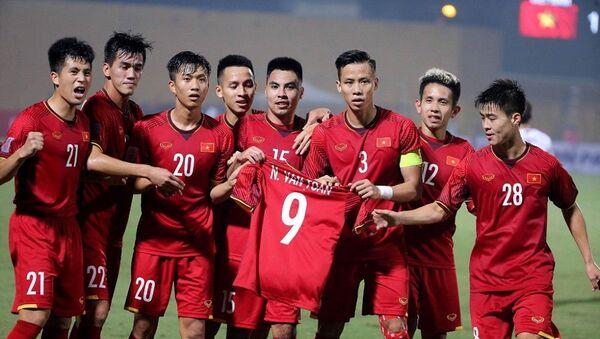 Thầy trò HLV Park Hang-seo sẽ có trận đấu đầu tiên tại Asian Cup 2019 vô cùng khó khăn gặp đối thủ rất mạnh là ĐTQG Iraq - Sputnik Việt Nam