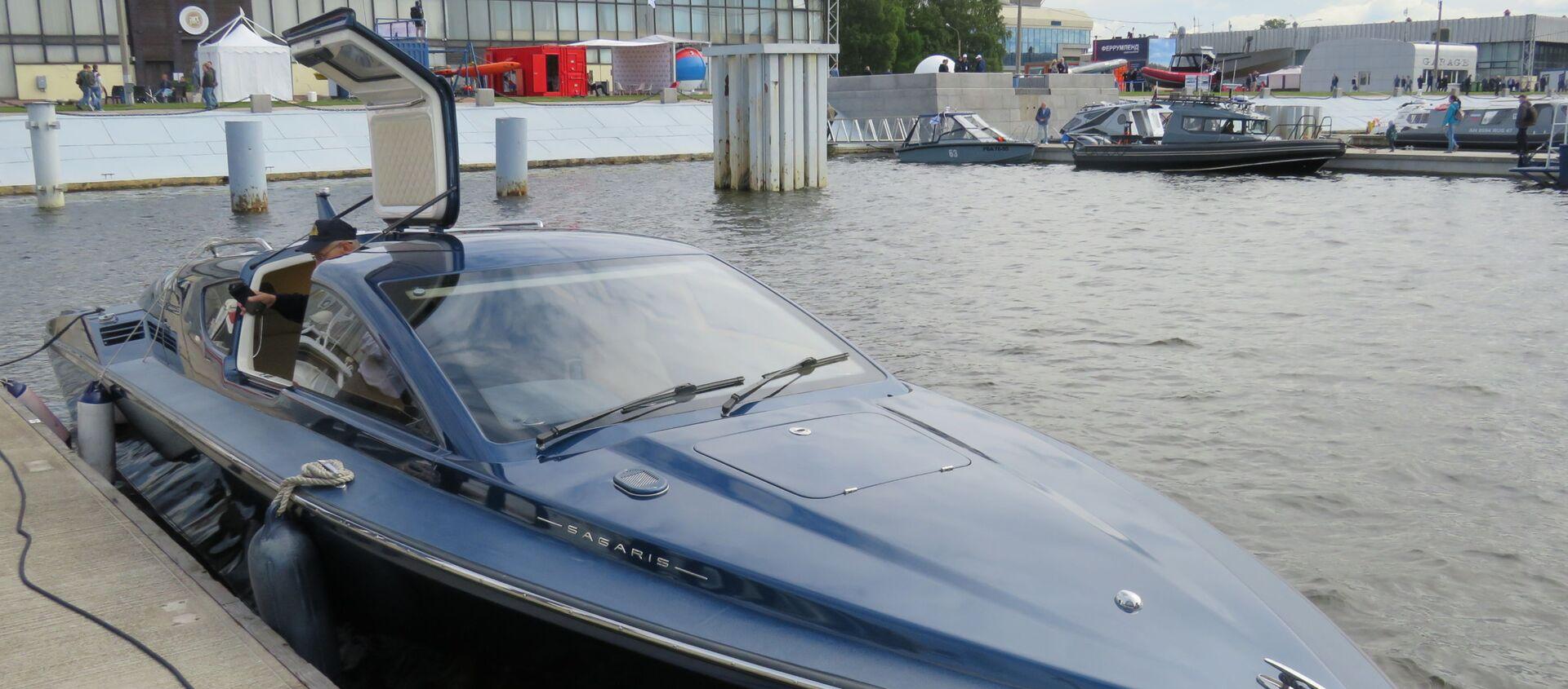 Tàu cánh ngầm Sagaris - Sputnik Việt Nam, 1920, 16.07.2019