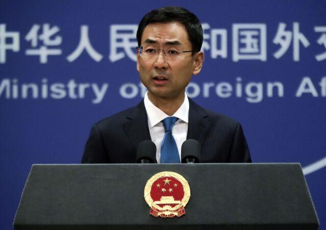 Cảnh Sảng, phát ngôn viên của Bộ Ngoại giao Trung Quốc