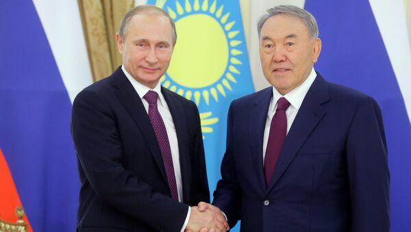 Визит президента РФ В.Путина в Казахстан - Sputnik Việt Nam