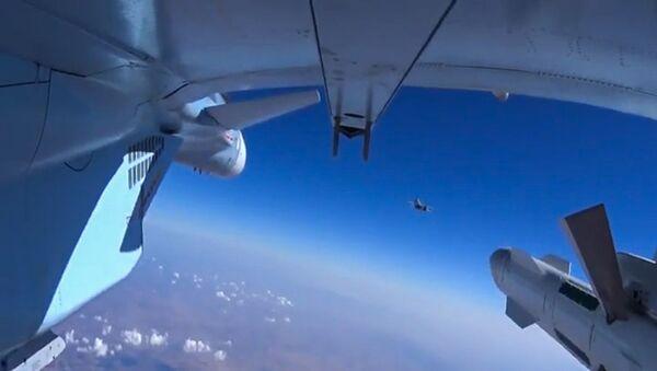 Đòn tấn công của không quân Nga tại Syria - Sputnik Việt Nam