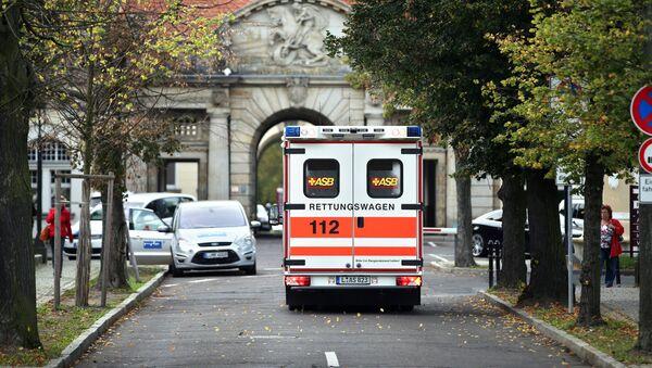 Xe cấp cứu tại bệnh viện ở Leipzig, Đức - Sputnik Việt Nam
